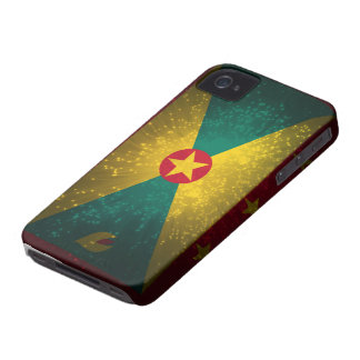 Grenada Flag Firework iPhone 4 Case