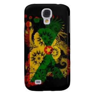 Grenada Flag Galaxy S4 Cover