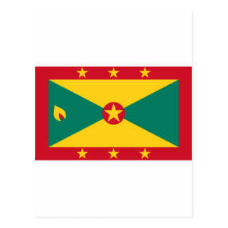 Grenada Flag GD Postcard