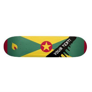 Grenada Flag Skateboard Deck
