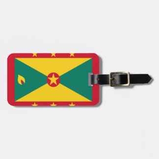 Grenada Flag Tag For Luggage