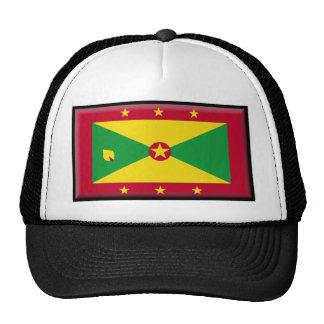 Grenada Flag Trucker Hat