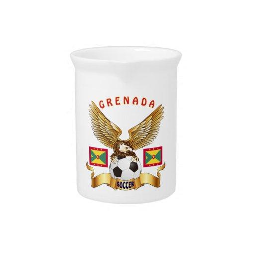 Grenada Football Designs Drink Pitcher