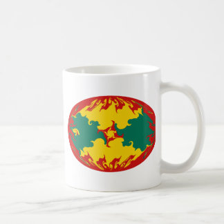 Grenada Gnarly Flag Mug