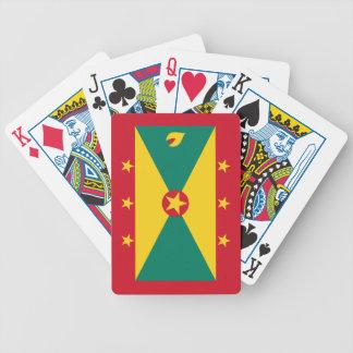 Grenada – Grenadian Flag Bicycle Playing Cards