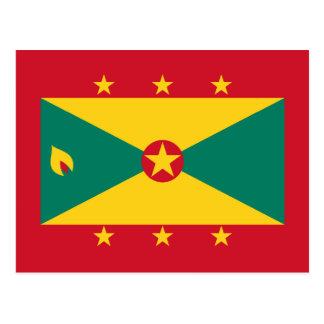 Grenada – Grenadian Flag Postcards