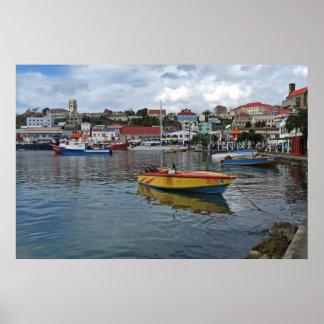 Grenada Harbor Photo Poster