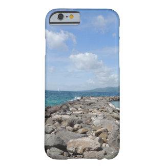 Grenada jetties and ocean iPhone case