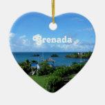 Grenada Landscape Ornament