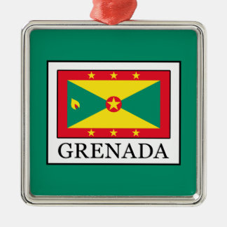 Grenada Metal Ornament