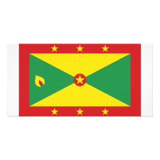 Grenada National Flag Photo Card