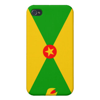 Grenada National Nation Flag  Covers For iPhone 4