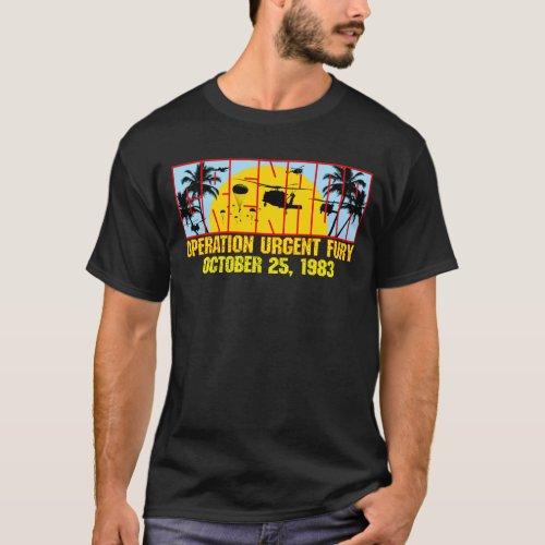 Grenada_Operation Urgent Fury Dark T_Shirt
