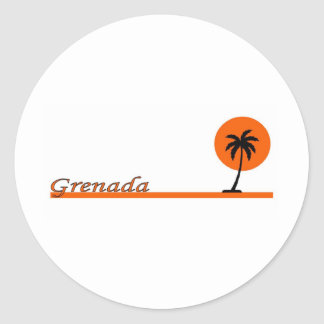Grenada Etiquetas Redondas