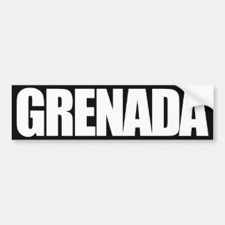 Grenada Pegatina Para Auto