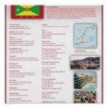 Grenada Print