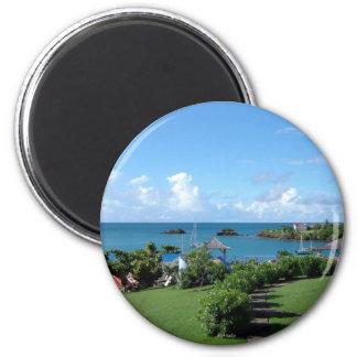 Grenada scenic refrigerator magnet