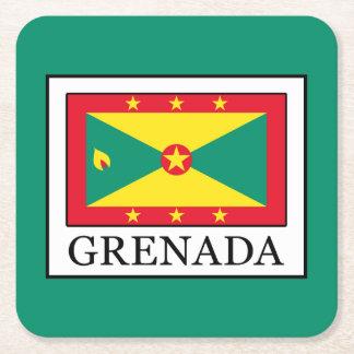 Grenada Square Paper Coaster