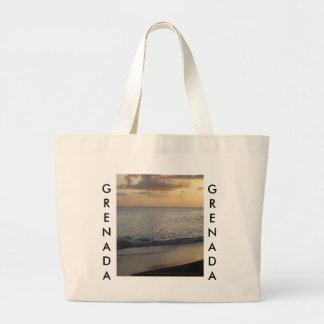 Grenada Sunset Tote Bag