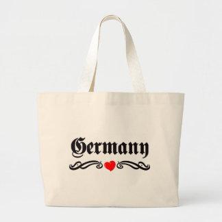 Grenada Tattoo Style Large Tote Bag