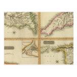 Grenada, Tobago, Trinidad, Curacao Post Card