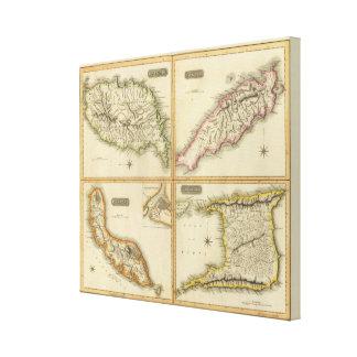 Grenada, Trinidad y Tobago, Trinidad, Curaçao Impresión En Lona