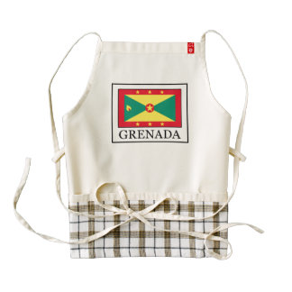 Grenada Zazzle HEART Apron
