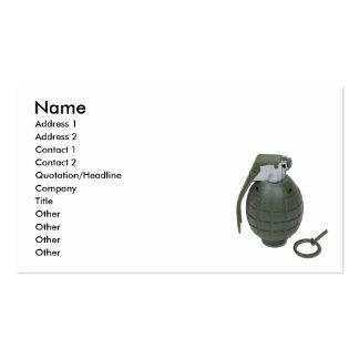 Grenade102410, Name, Address 1, Address 2, Cont... Business Card