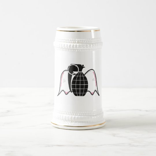 """Grenade Angel"" Beer Stein"