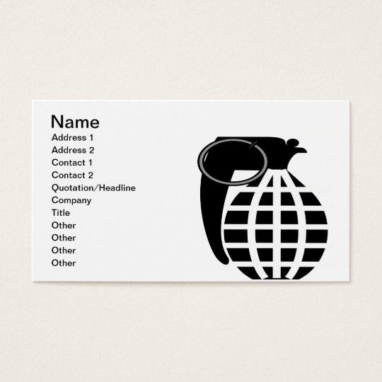 Grenade Business Card