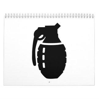 Grenade Calendar