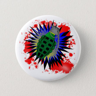 Grenade Comic Exclamation Button