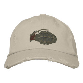 Grenade Embroidered Baseball Cap