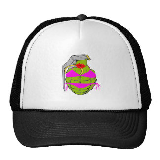 Grenade Girl Trucker Hat