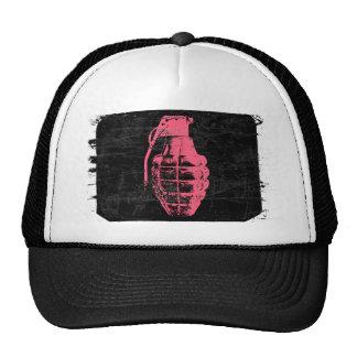 Grenade Trucker Hats