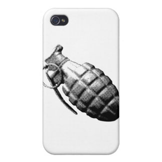 Grenade Cover For iPhone 4