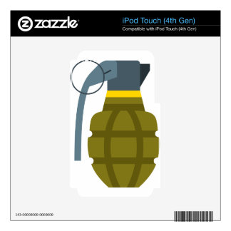 Grenade iPod Touch 4G Skins