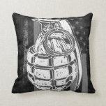 grenade pillow