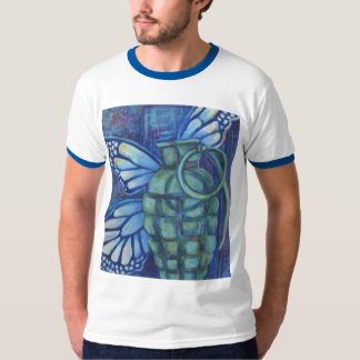 Grenade with butterfly tees
