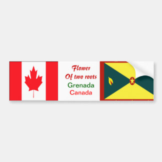Grenadian-canadian bumper stickers
