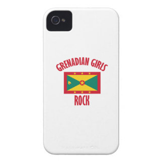 Grenadian girls DESIGNS Case-Mate iPhone 4 Case