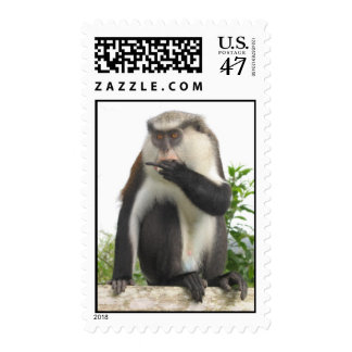 Grenadian Monkey Postage