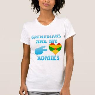 Grenadians are my Homies Tee Shirt