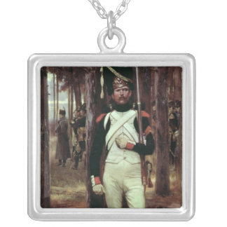 Grenadier Guard Silver Plated Necklace
