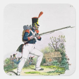 Grenadier Guard Square Sticker