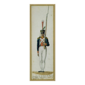 Grenadier of the Guard of Alexander I Poster