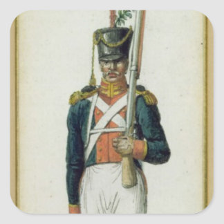 Grenadier of the Guard of Alexander I Square Sticker