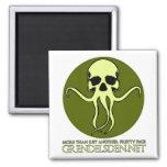 Grendel's Den Design Studio Square Magnet