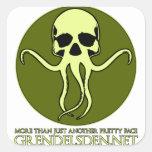 Grendel's Den Design Studio Square Sticker