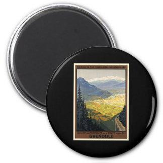Grenoble 2 Inch Round Magnet